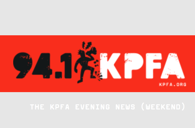 KPFA interview – 9:30-13:30